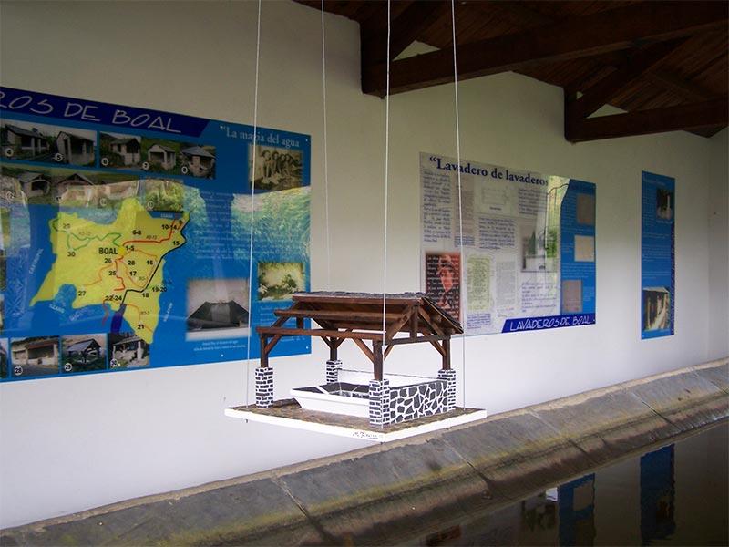 Centro Interpretación del Lavadero en Boal