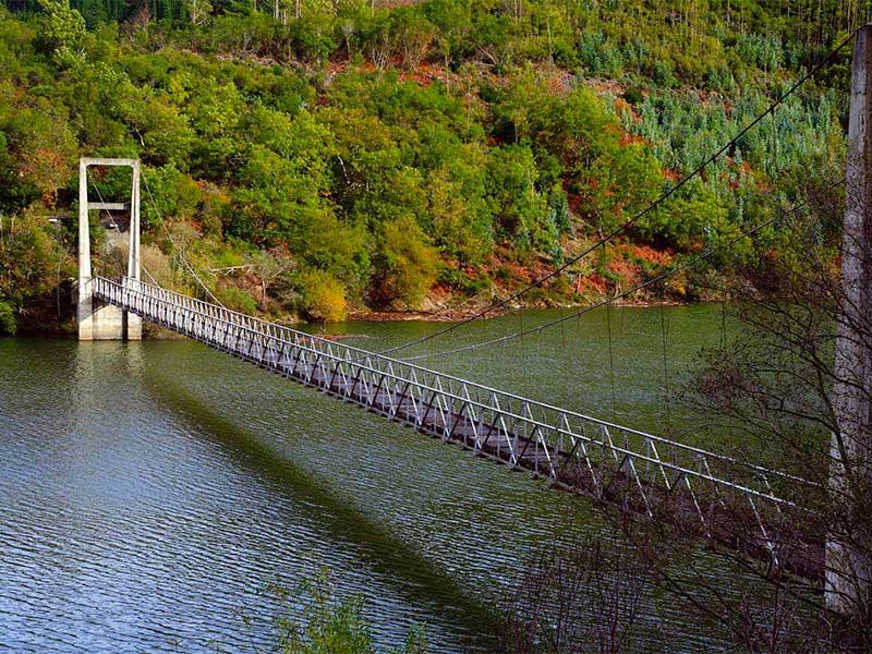 Puente Colgante de Illano