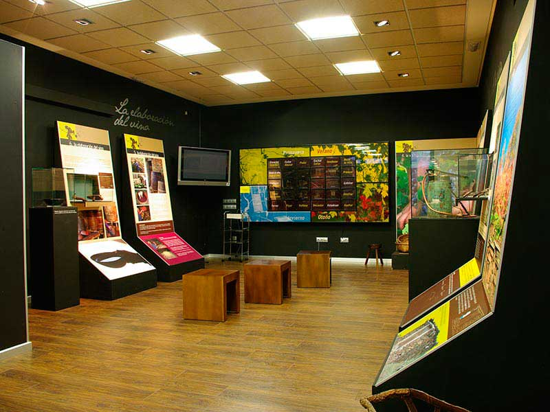 Vista Interior del Museo Etnológico de Pesoz